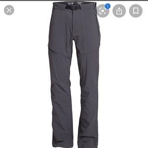 Mountain Hardware Mens Grey Chockstone Hike Pant